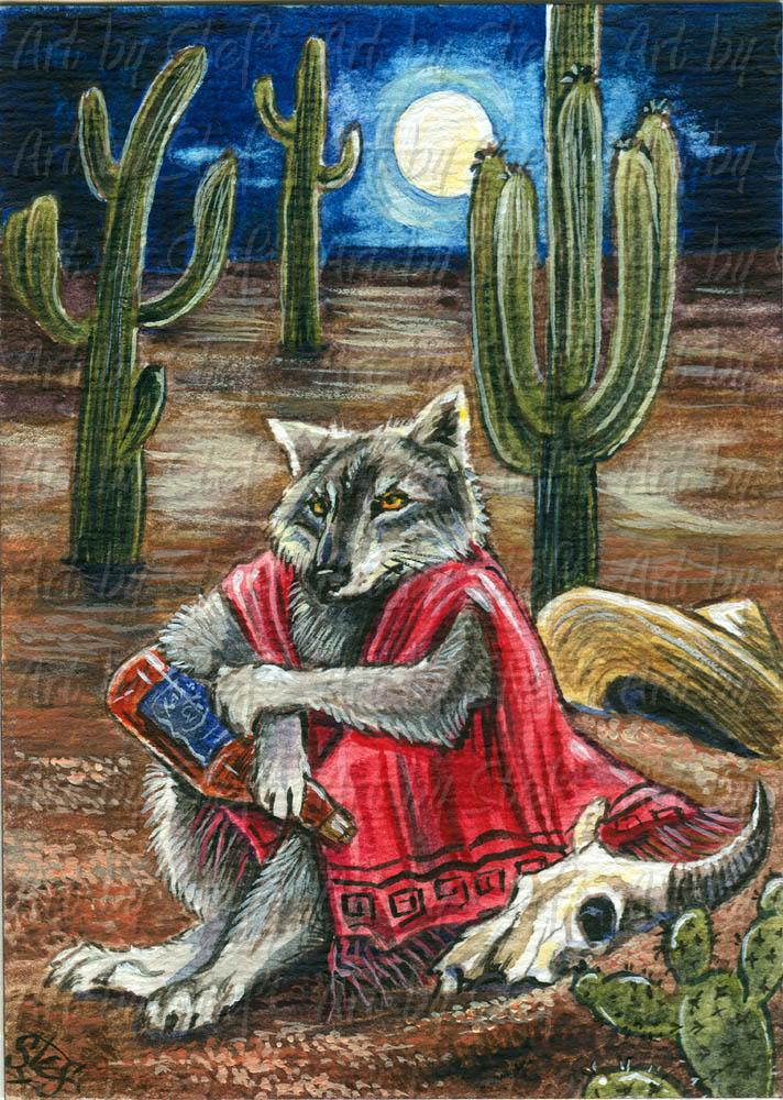 Whimsical; Mexicali Blues; ACEO; Stef