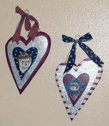 Collectables; Stars and Stripes; Handpainted Primitives; Stef